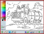coloriage transport